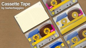 Cassette Tape by barkerbaggies