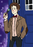 The 11th Doctor by AninhaT-T