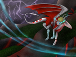 violent storm by cynderplayer