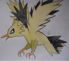 #145. Zapdos by DreamDrifter91