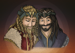 A King and his Lionheart by Mhyin