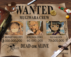 Mugiwara Wanted -1st Edition- by Jiji-san