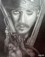 Jack Sparrow by mrigank