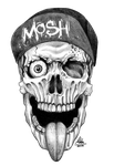 Skull Mosh by such-a-mika