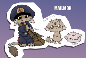 Mailmon by Nire-chan