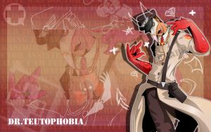 Dr.Teutophobia Wallpaper by CatnipMafia