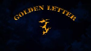 Golden Letter 2 Wallpaper by Keisarinvaimo