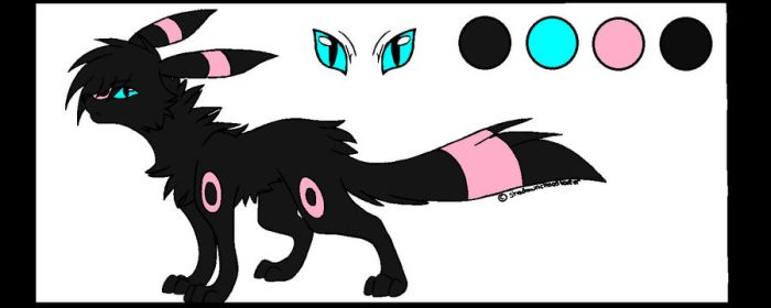 Me as Umbreon by gazettefangirl12