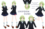 MMD: Uniform GUMI+ Download by Nekofred