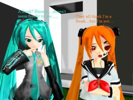 MMD - I'm just a freak...... *Request* by MMDCharizard