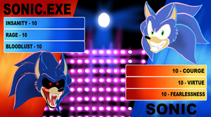 ARB - Sonic Parody - Insanity VS Courage by Ask-EXE