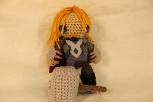 Crochet Thor Plush -FOR SALE by CrochetHyperbole