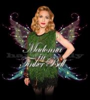 Madonna in Tinker Bell by GabForLashes