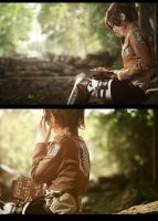 Attack on Titan Hanji Zoe by 35ryo