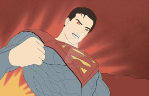Superman Injustice by Flich