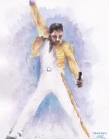 Freddie Mercury by Glorfindelle