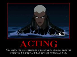 Aqualad acting by TopcowImage2dF