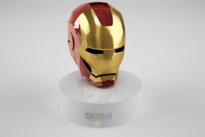 Iron Man mask by TimelessArts