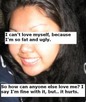 I Can Not Love Myself by PostSecrets
