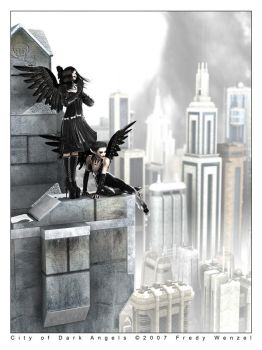 City of Dark Angels by Fredy3D