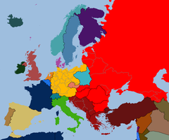 Map of Europe by TiltschMaster