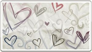Hand Drawn Hearts 3 by ammmy