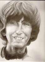 George Harrison by Michi1223