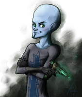 Megamind by Kamfer
