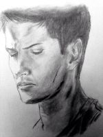 Dean Winchester sketch by svesh95