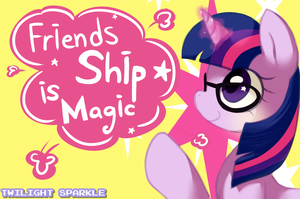 Twilight sparkle FIM ! by Marenlicious