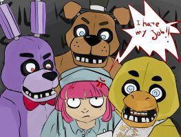 five nights at freddy's - I hate my job by sweetxvichy