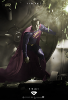 Bizarro - Man of Steel - Fan Poster by P2Pproductions