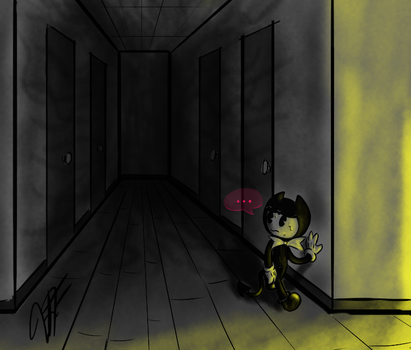 Bendy Alone by Watery-Flame