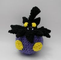 Shiny Pumpkaboo ami by gwilly-crochet