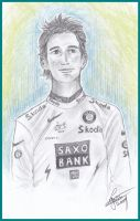Andy Schleck by Leeuwtje