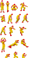 Ronald Mcdonald S-Sheet Part 1 by MercuryX