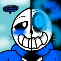 Here we go (Genocide Run: Sans) by YaoiLover113