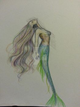 Water Color Pencil Practice by rachiesroom