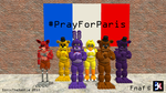 Pray For Paris (spread the word!) by SonicTheDashie