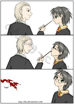 evil harry potter thing by may-chu