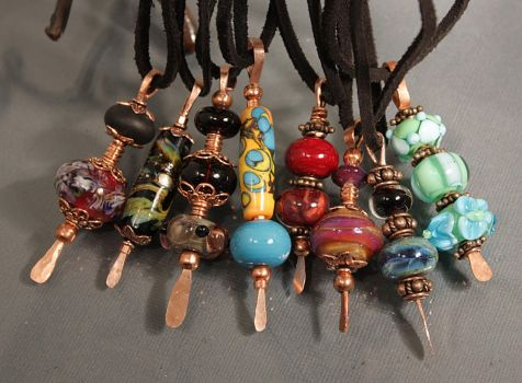 Eye Candy Pendants by CopperDancer