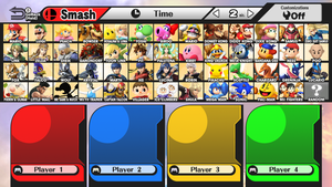 Super Smash Bros. Wii U - Fake Roster by R-One-92