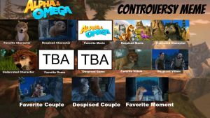 Alpha And Omega Controversy Meme by KateHasBoobs