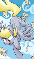 MLP Portrait Series - Derpy Hooves by sophiecabra