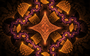 violet orange pattern by Andrea1981G