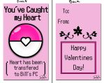 Valentine 6 - Pokemon - You've Caught my Heart by ImzadAmyMoon
