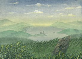 Misty Landscape by Siobhan68