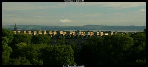 Chimneys on the Forth by HerrDrayer