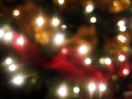 Christmas Tree Bokeh Effect by AnaMesquitaPhotos