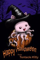 Halloween from Tentacle Kitty by TentacleKitty